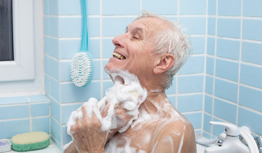 The bathroom is the riskiest place within the home for elderly people.